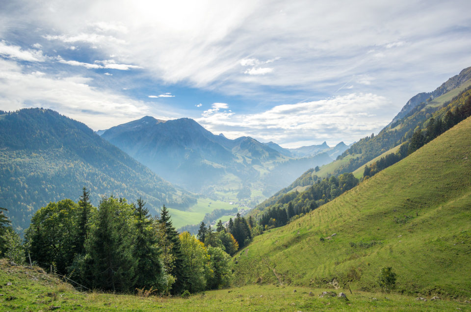 Charmey – La Berra – Schwarzsee – Jaun