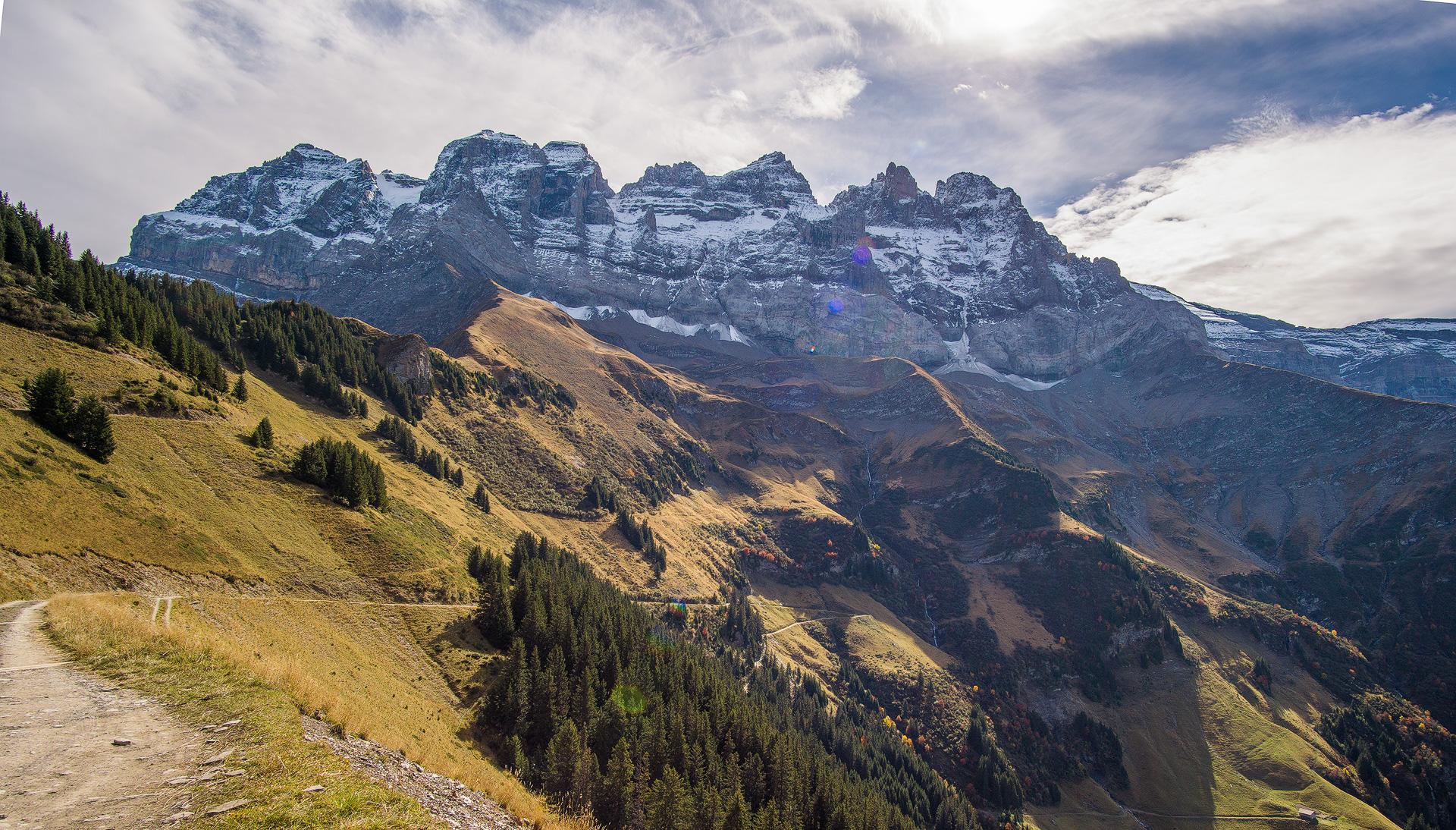 Dents du Midi, Switzerland.