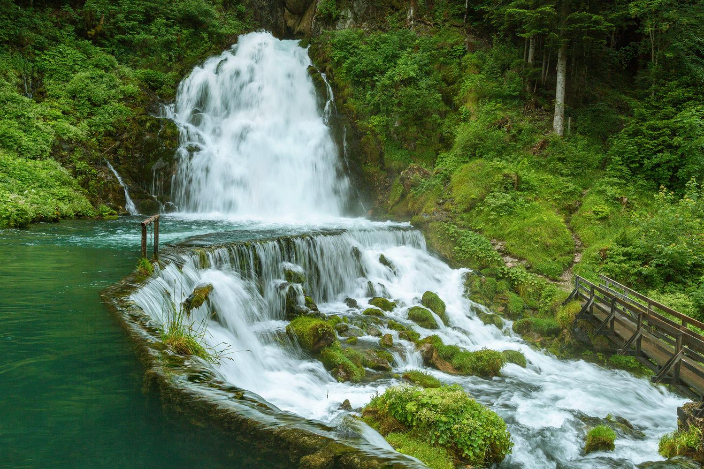 Jaun Wasserfall, Fribourg.
