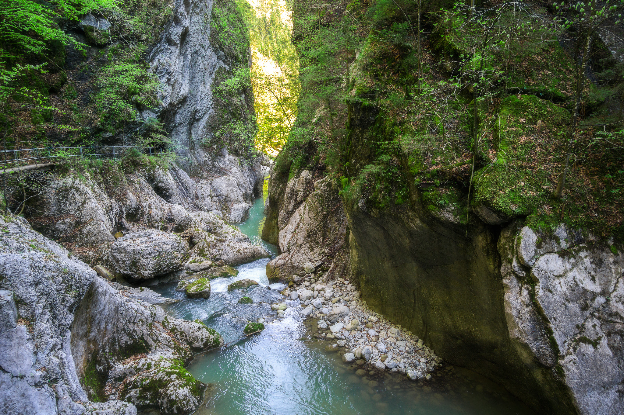 Gorges de Jognes, Switzerland.
